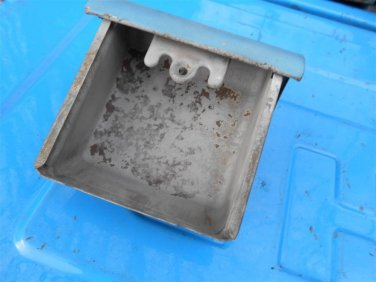 57 58 59 60 Ford pickup truck metal dash ash tray (bead blasted)