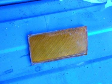 68 1968 Ford Falcon front passenger side amber side marker reflector Fomoco