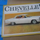 1964 Chevelle by Chevrolet color sales brochure  original GM not a reprint 8 pgs