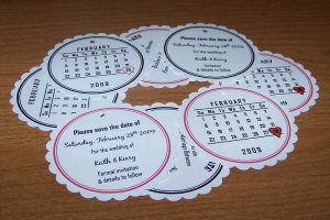 108 Save The Date Wedding Annoucement Cards Style 2