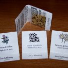 56 Personalized Wedding Wildflower Seed Packet Favors Style #1