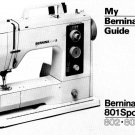 Bernina 801 - 802 - 803 Sport Sewing Machine Manual Pdf