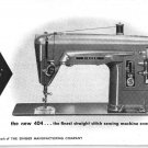 Singer 404 Sewing Machine Instruction Manual Pdf