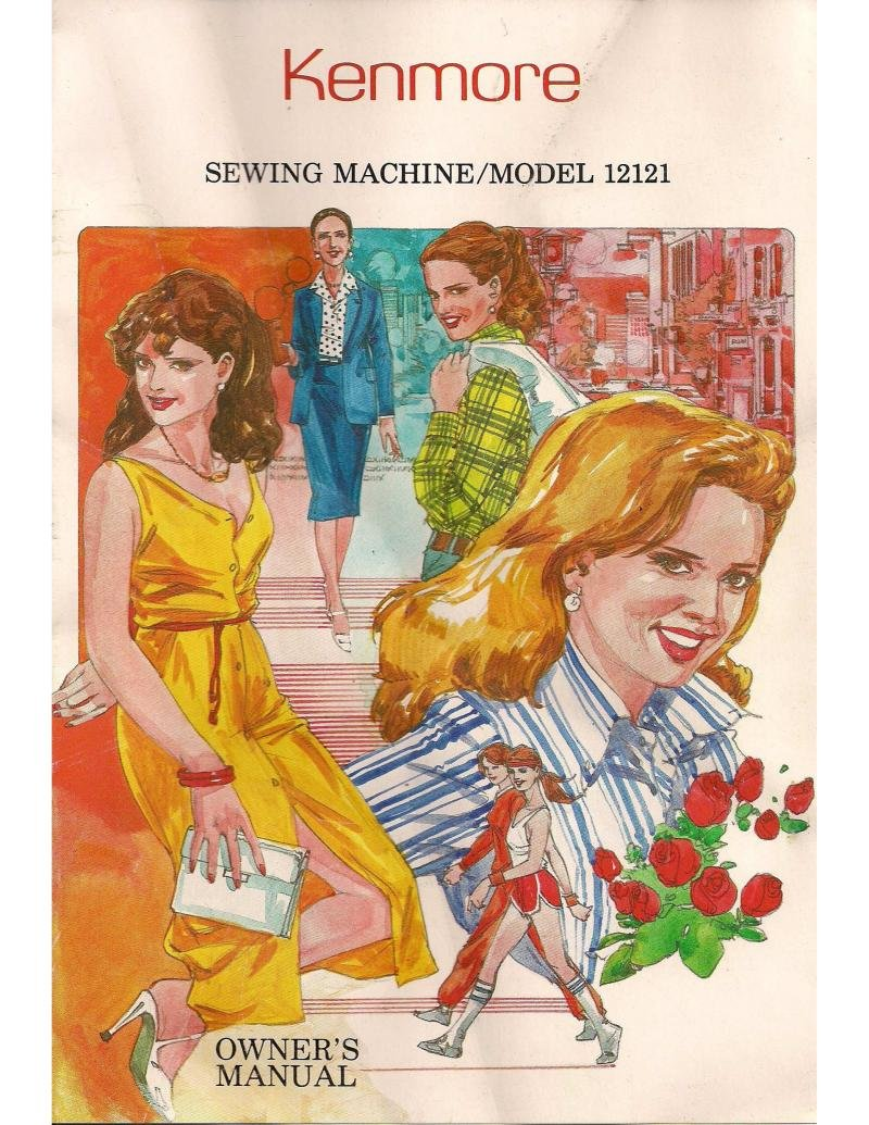 Kenmore Model 12121 Sewing Machine Instruction Manual Pdf