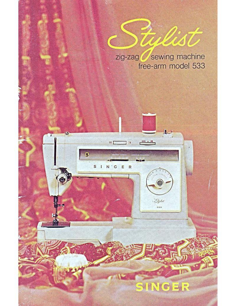 Singer 533 Stylist Sewing Machine Manual Pdf