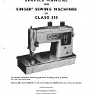 Singer 338 Sewing Machine Service Manual Pdf