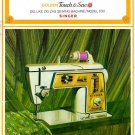 Singer 630 Sewing Machine Instruction Manual Pdf