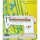 Singer 538 Sewing Machine Instruction Manual Pdf