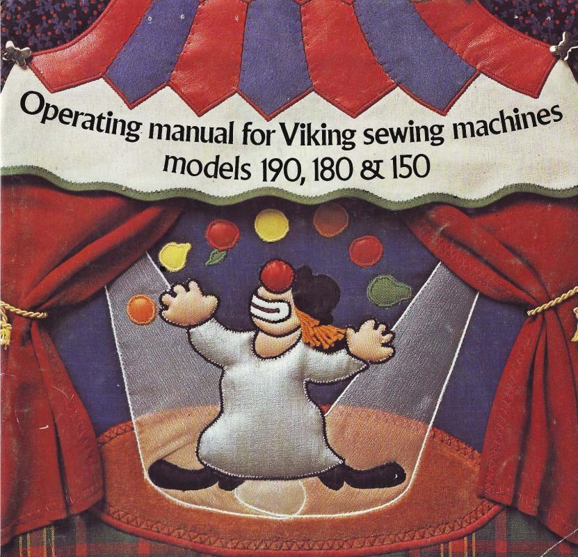 Viking Husqvarna 150-180-190 Sewing Machine Manual Pdf