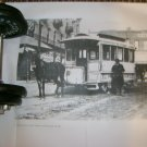 el paso print of old streetcar photo downtown el paso texas