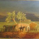 DON MCALAVY SOUTHWEST OIL PAINTING
