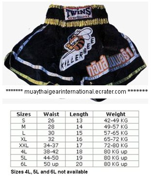 TS099 - Twins Special Muay Thai Shorts