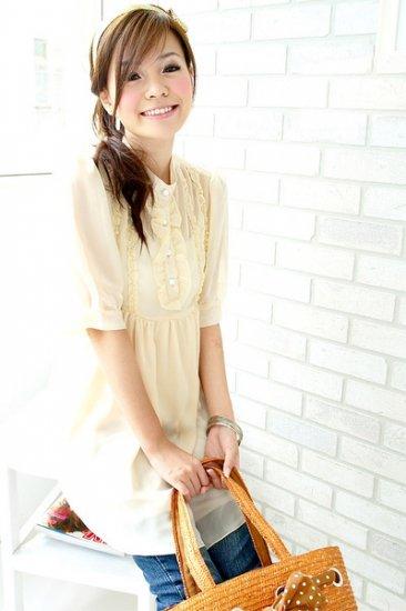 ML 9021 Cream dress