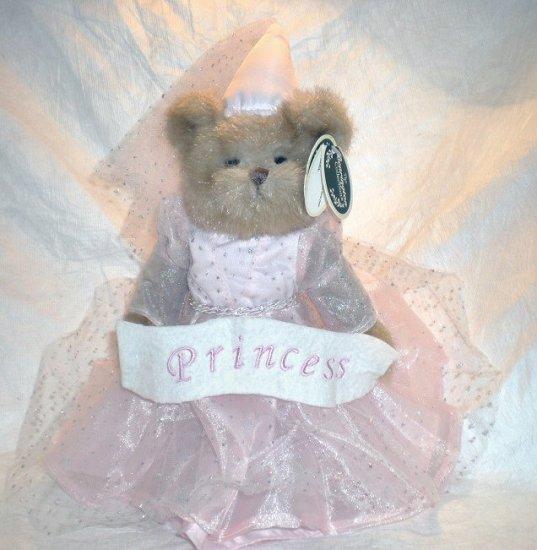 Bearington Bear Pink Fairy Princess - Princess Bearytale