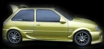 Ford Fiesta mk3/mk4 sideskirts