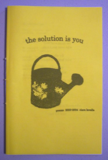the solution is you - chapbook