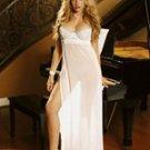 Long Mesh Gown