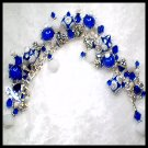 Lampwork Bead Charm Bracelet