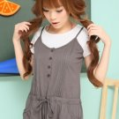 20s Twenties Cotton Sling Dress (with inner white blouse) A0955