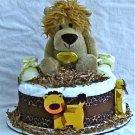 1 Tier Lion Diaper Cake