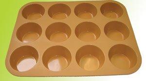 Silicone bakeware(12 cup mini tart pan)