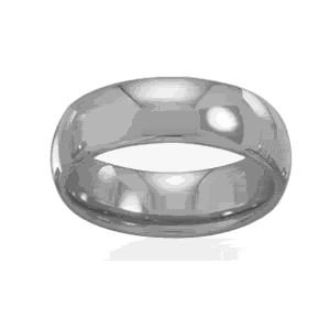 Tungsten Carbide 6mm Band Ring