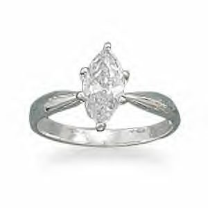 Marquise CZ Ring