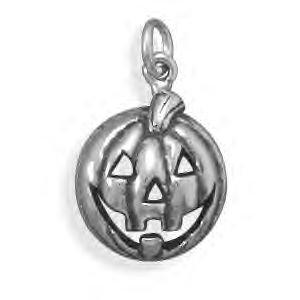 Halloween Jack-O-Lantern Charm