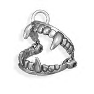 Movable Fangs Halloween Charm