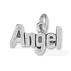 Angel Word Charm