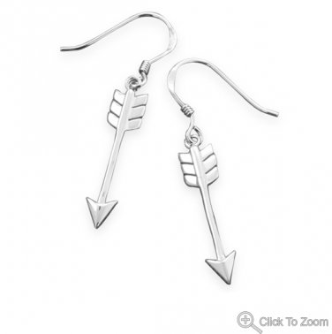 Aim High Arrow Earrings