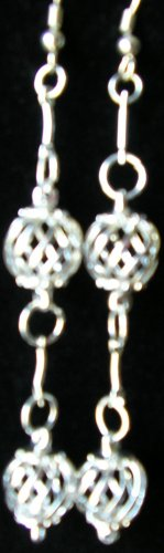 silver dangle earrings avail with sterling silver hooks