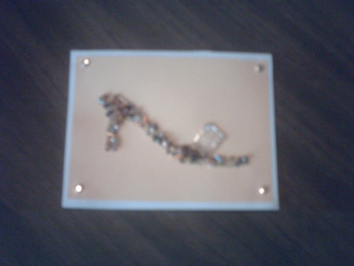 Decorative Beaded Greeting Card.