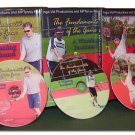 Tennis Instruction Lessons DVD Video , Complete Set!