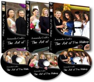 Pro Makeup Instruction DVD Video , Complete Set!
