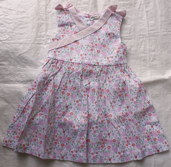 LAURA ASHLEY Pink Floral Dress (RM34.90)