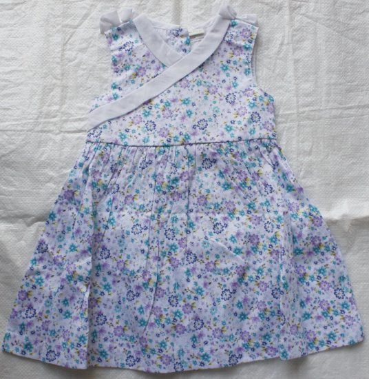 LAURA ASHLEY Light Blue Floral Dress (RM34.90)