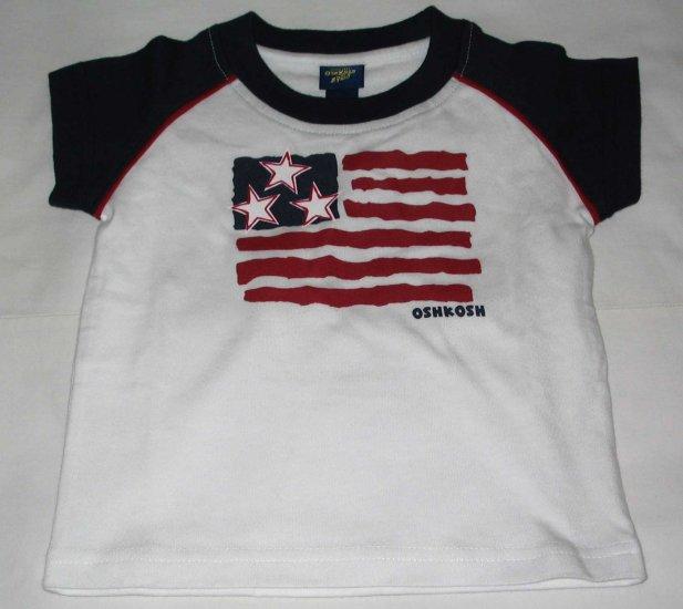 OSH KOSH Blue 'Flag' T- Shirt  (RM31.90)