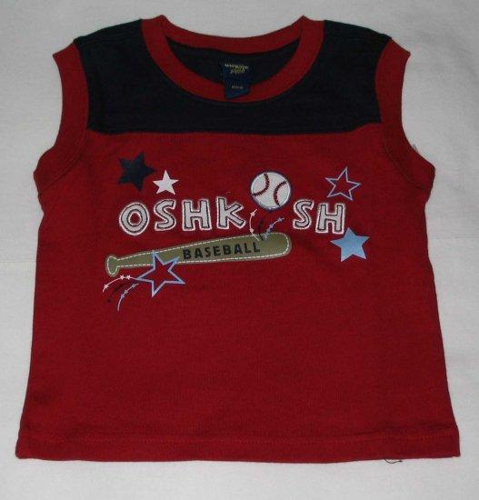 OSH KOSH 'Baseball' Sleeveless T- Shirt (RM31.90)
