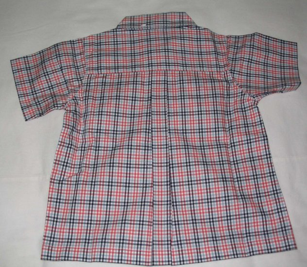 OSH KOSH Chequered Short Sleeve Shirt (RM37.00)