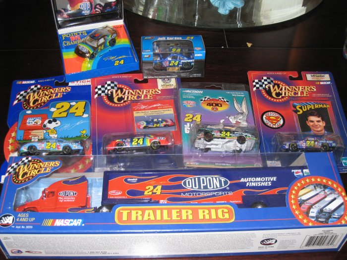 Huge Jeff Gordon Collection