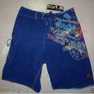 New Quiksilver Men's Board Shorts Blue W:32
