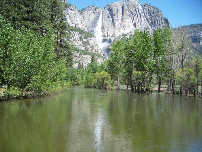 Yosemite Falls 8.5x11