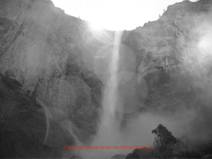 Mystical Waterfall 8.5x11
