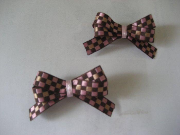 Pink and Brown pair