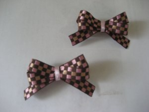 Pink and Brown pair