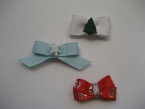 Christmas snap clips for baby