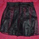 Toddler Black Nylon and Lycra Pull On Skirt Size XS
