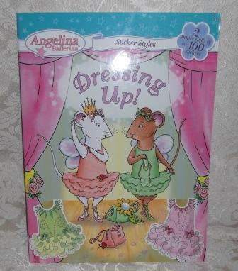 Paperback - Angelina Ballerina Dressing Up! Book