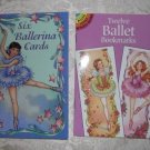 Twelve Ballet Bookmarks and Six Ballerina Cards